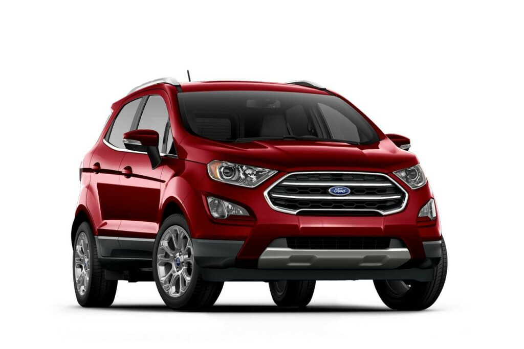 Ground Clearance of Ford Ecosport