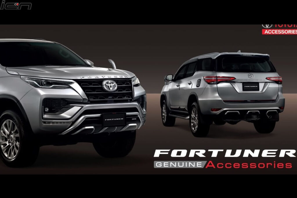 Toyota Fortuner Facelift Accessories Officially Revealed
